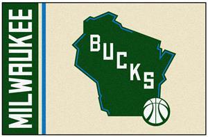 Fan Mats NBA Milwaukee Bucks Starter Rug