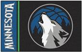 Fan Mats NBA Minnesota Timberwolves Starter Rug