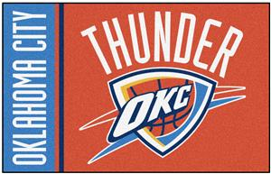 Fan Mats NBA Oklahoma City Thunder Starter Rug