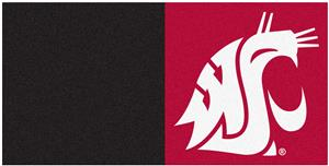Fan Mats NCAA Washington State Univ. Carpet Tiles