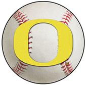 Fan Mats NCAA University of Oregon Baseball Mat