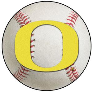 Fan Mats NCAA University of Oregon Baseball Mat
