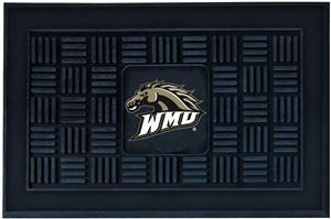 Fan Mats Western Michigan Univ. Medallion Door Mat