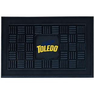 Fan Mats NCAA Univ. of Toledo Medallion Door Mat