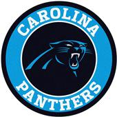 Fan Mats NFL Carolina Panthers Roundel Mat