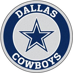 Fan Mats NFL Dallas Cowboys Roundel Mat