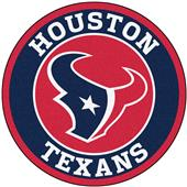 Fan Mats NFL Houston Texans Roundel Mat