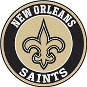 Fan Mats NFL New Orleans Saints Roundel Mat