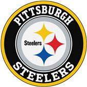 Fan Mats NFL Pittsburgh Steelers Roundel Mat