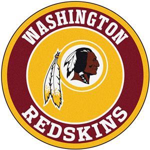 Fan Mats NFL Washington Redskins Roundel Mat