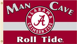 College Alabama Crimson Tide Man Cave 3' x 5' Flag