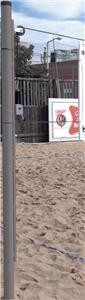 Bison Outdoor Sand Volleyball Ground Sleeve SVB210