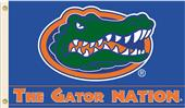 College Florida Gators The Gator Nation 3'x5' Flag