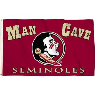 College Florida State Man Cave 3'x5' Flag