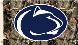 College Penn State Nittany Lions Camo 3'x5' Flag