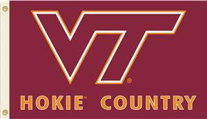 College Virginia Tech Beware Hokie Country Flag