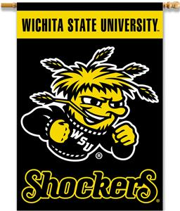 "College Wichita State 2-Sided 28""x40"" Banner"