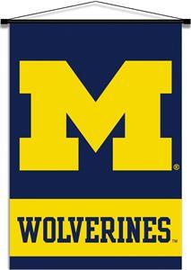 College Michigan Wolverines Indoor Banner Scroll