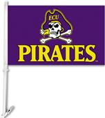 "College East Carolina 2-Sided 11"" x 18"" Car Flag"
