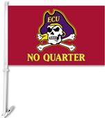 College East Carolina No Quarter 2-Sided Car Flag
