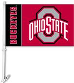 College Ohio State Buckeyes 2-Sided Car Flag