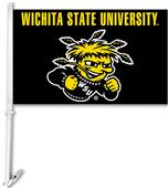 "College Wichita State 2-Sided 11""x18"" Car Flag"