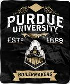 "Northwest NCAA Purdue Univ. 50""x60"" Raschel Throw"