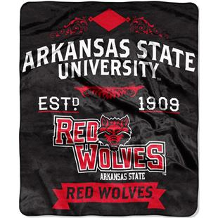 Northwest NCAA Arkansas State 50x60 Raschel Throw