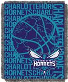 NBA Hornets Double Play Woven Jacquard Throw