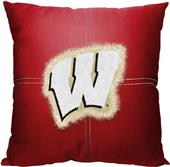 Northwest NCAA Wisconsin Letterman Pillow