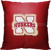 Northwest NCAA Nebraska Letterman Pillow