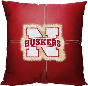Northwest NCAA Nebraska Letterman Pillow