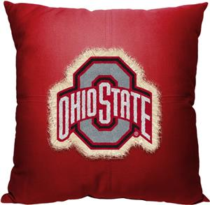 Northwest NCAA Ohio State Letterman Pillow