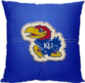 Northwest NCAA Kansas Letterman Pillow