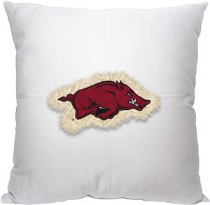 Northwest NCAA Arkansas Letterman Pillow