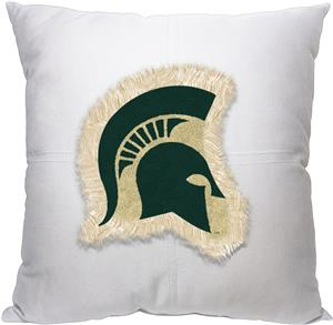 Northwest NCAA Michigan State Letterman Pillow