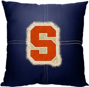 Northwest NCAA Syracuse Letterman Pillow