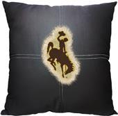 Northwest NCAA Wyoming Letterman Pillow