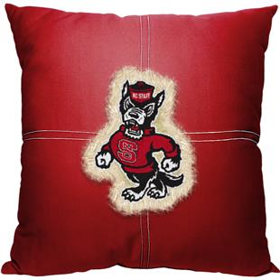 Northwest NCAA NC State Letterman Pillow