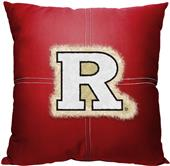 Northwest NCAA Rutgers Letterman Pillow