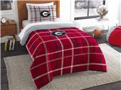 Northwest NCAA Georgia Twin Comforter and Sham