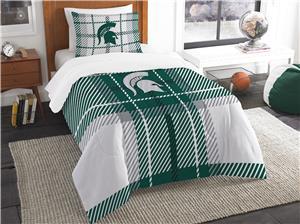 Northwest NCAA Mich. State Twin Comforter & Sham