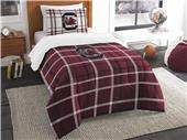 Northwest NCAA S. Carolina Twin Comforter and Sham
