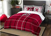 Northwest NCAA Utah Full Comforter and 2 Shams