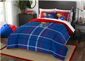 Northwest NCAA Kansas Full Comforter and 2 Shams