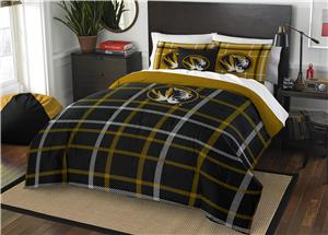 Northwest NCAA Missouri Full Comforter and 2 Shams