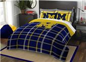 Northwest NCAA Michigan Full Comforter and 2 Shams
