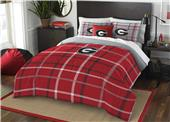 Northwest NCAA Georgia Full Comforter and 2 Shams