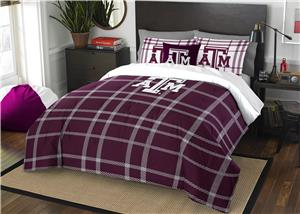 Northwest NCAA Texas A&M Full Comforter & 2 Shams