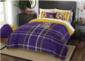Northwest NCAA LSU Full Comforter and 2 Shams